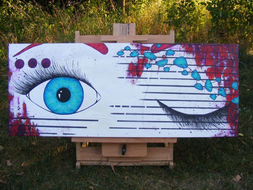 "Wink by Sheri Roloff - 16"" x 40"""