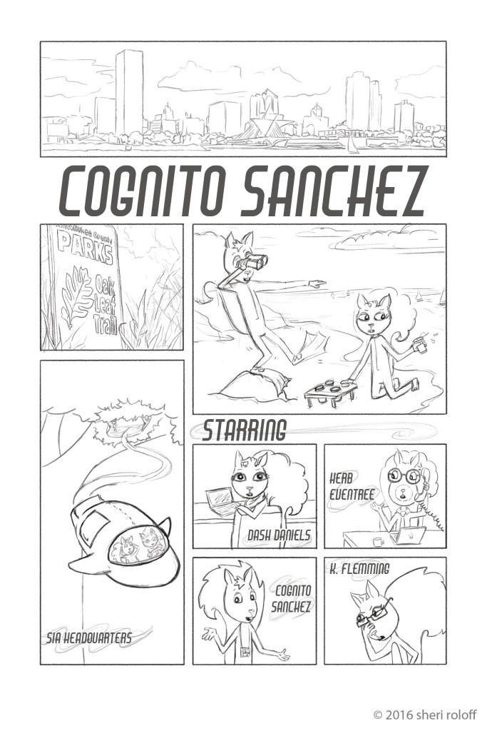 Cognito Sanchez_intro page by Sheri Roloff