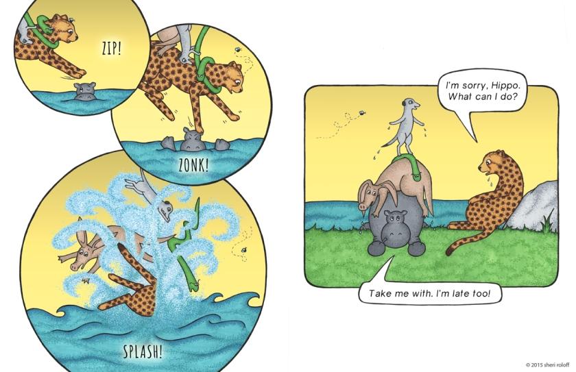 Run, Cheetah, Run! by Sheri Roloff