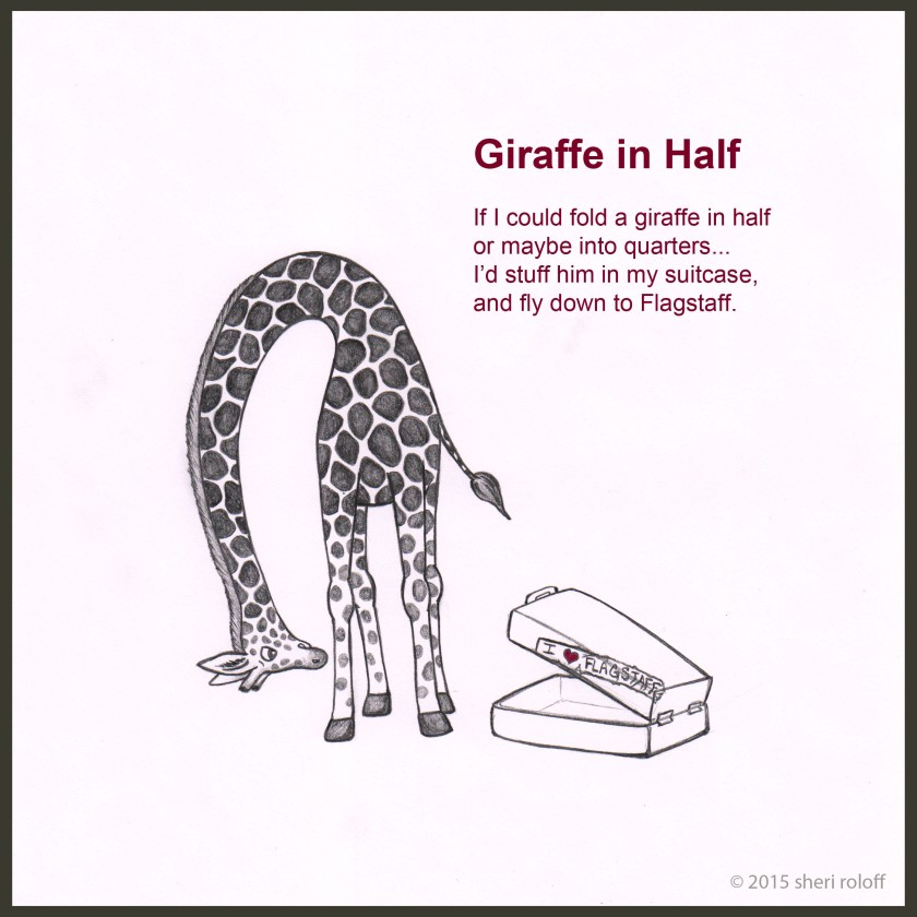 Giraffe in Half by Sheri Roloff