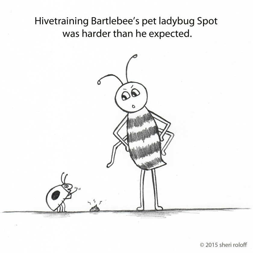 Bartlebee and Spot by Sheri Roloff