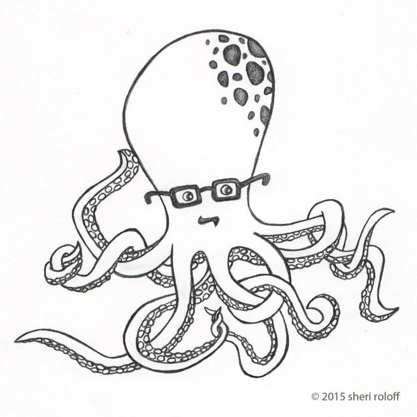 Alfred Von Octopod by Sheri Roloff