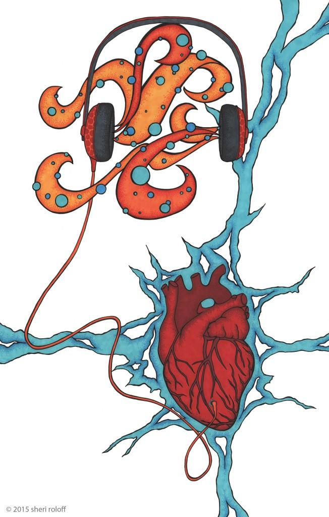 Heartphones by Sheri Roloff