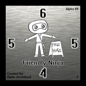 Friendly Ninja - Square Tactics