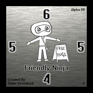 Friendly Ninja - Square Tactics
