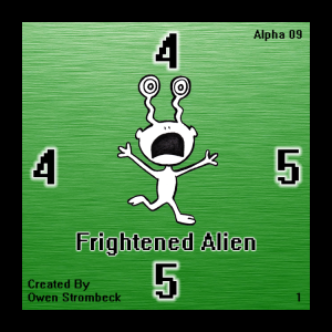 Frightened Alien - Square Tactics