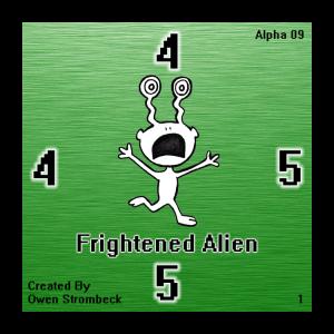 Frightened Alien - Square Tactics