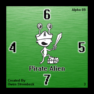 Pirate Alien - Square Tactics
