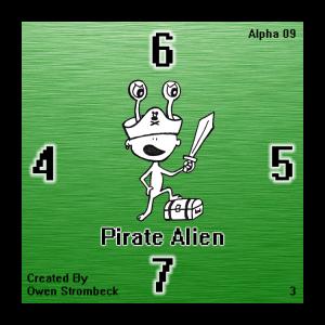 Pirate Alien - Square Tactics