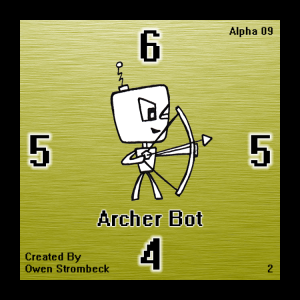 Archer Bot - Square Tactics