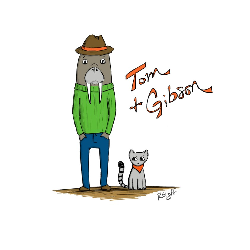 Tom & Gibson by Sheri Roloff