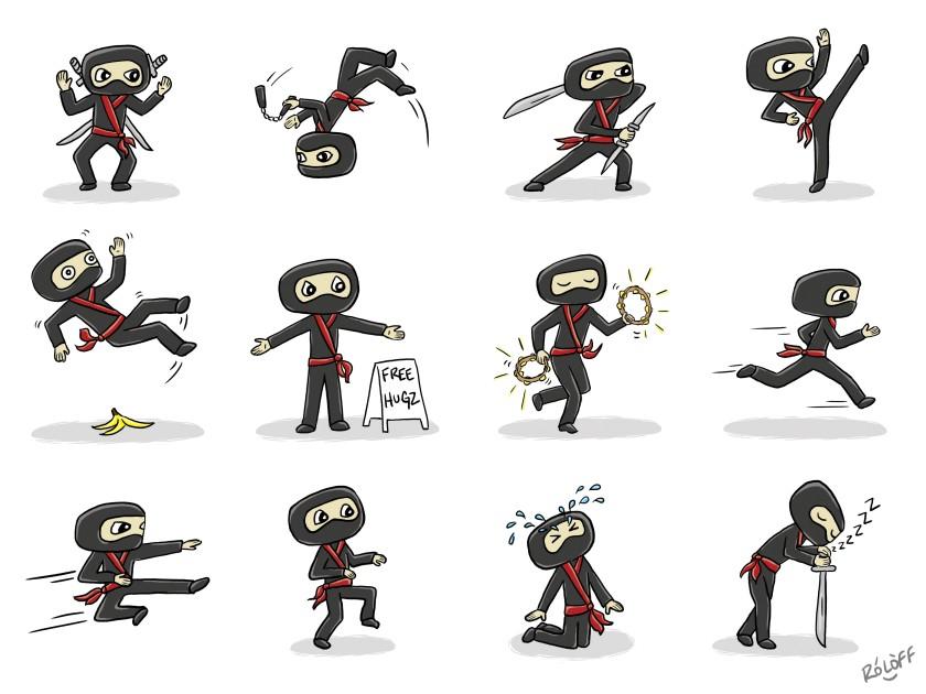 Ninjas by Sheri Roloff