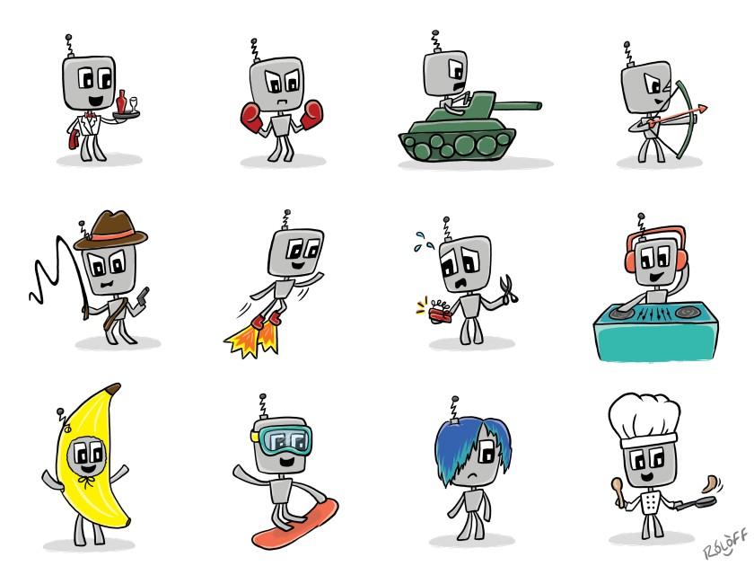 Robots by Sheri Roloff