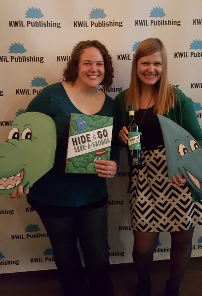 Hide & Go Seek-A-Saurus Release Party