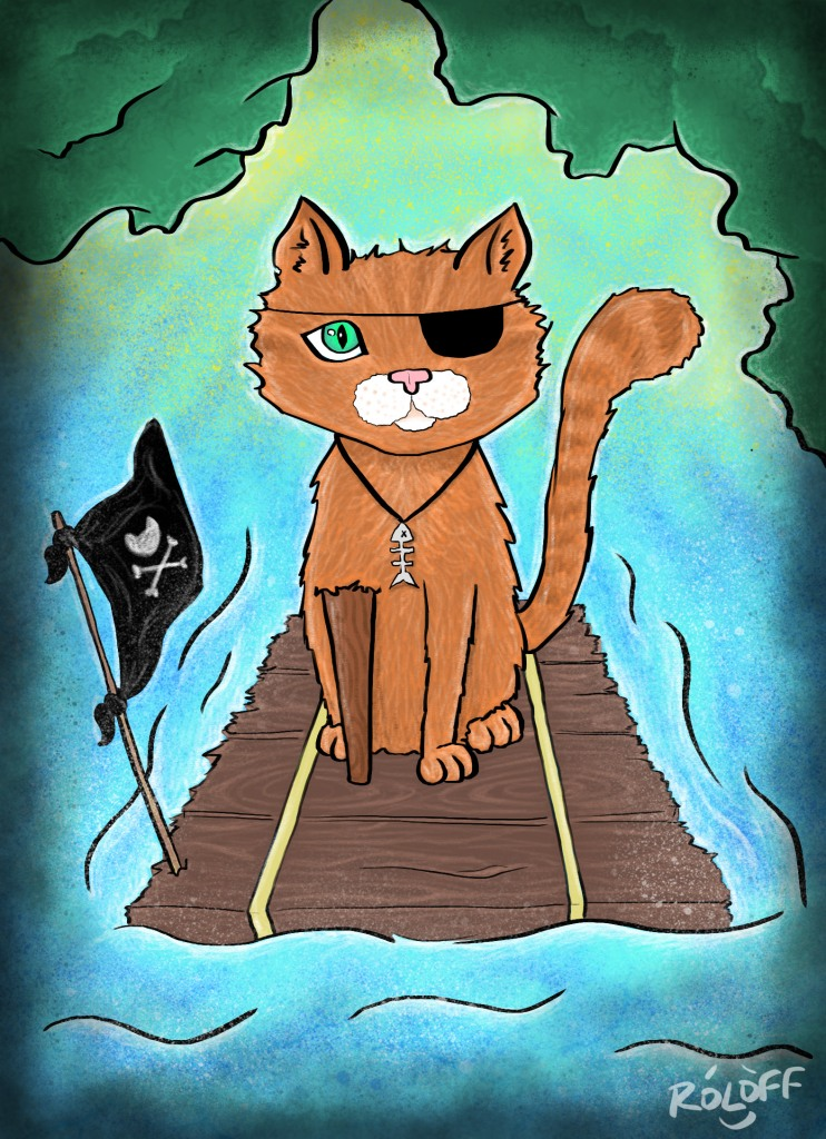 Pirate Cat by Sheri Roloff